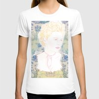 marie antoinette T-shirts featuring MARIE ANTOINETTE by Itxaso Beistegui Illustrations