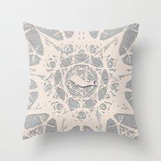 whale journal Throw Pillow