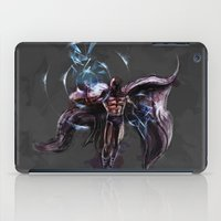 magneto iPad Cases featuring Magneto  by Bigcookben