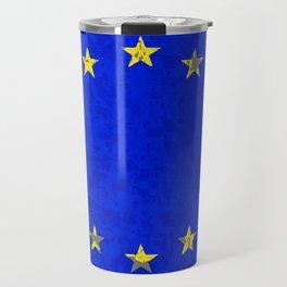 EU Flag Travel Mug