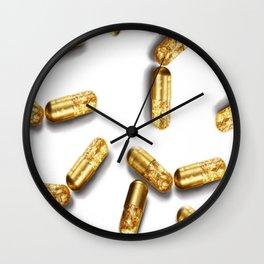 Pill Popper  Wall Clock