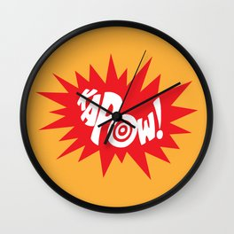KAPOW! Wall Clock