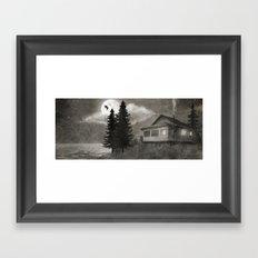 Owl Lake  Framed Art Print