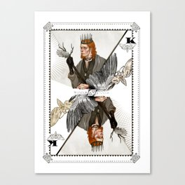 King of Wings Canvas Print