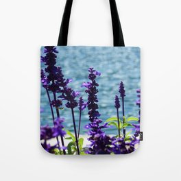 Violet Swiss Tote Bag