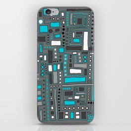 Turquoise Dream (Pattern) iPhone Skin