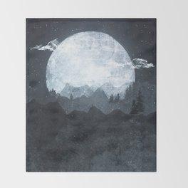 Moonrise Throw Blanket