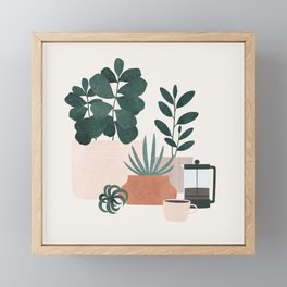 Coffee & Plants x The Sill Framed Mini Art Print