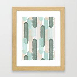 Relief #society6 #abstractart Framed Art Print