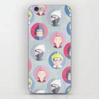 naruto iPhone & iPod Skins featuring Naruto icons by Maha Akl