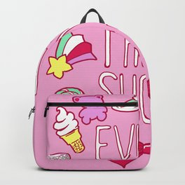 Just Keep Smiling Backpack
