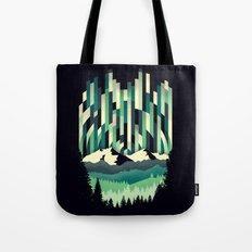 Sunrise in Vertical - Winter Blues Tote Bag