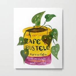 Bustelo planter Metal Print