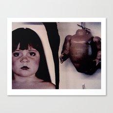 Innocence Torn Asunder Canvas Print