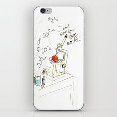 I don't know how love works iPhone & iPod Skin
