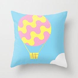 dream fly Throw Pillow