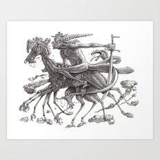 Great Duke Bathin Art Print