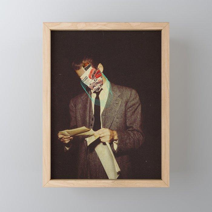 The Letter Framed Mini Art Print