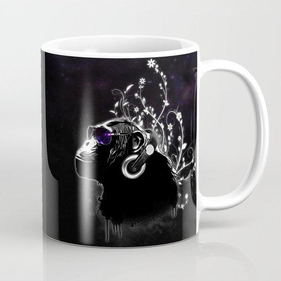 Monkey Tripping - Black Mug