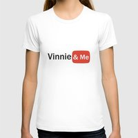 youtube T-shirts featuring Vinnie & Me YouTube by Vinnie&Me