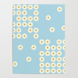 Misplaced daisies Poster