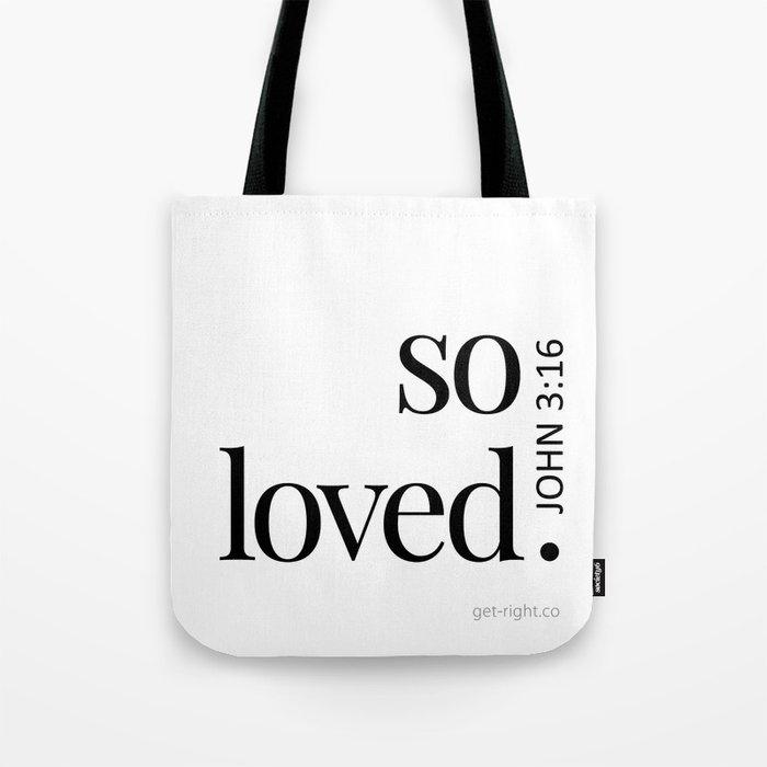 So Loved Tote Bag