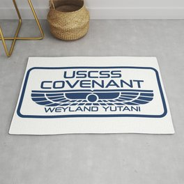 USCSS Covenant - Weyland Yutani - with border Rug