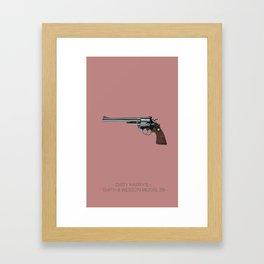 Dirty Harry's Magnum Framed Art Print