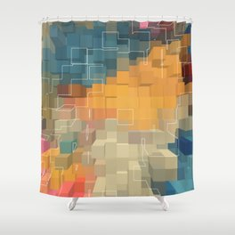 Extrusion Shower Curtain