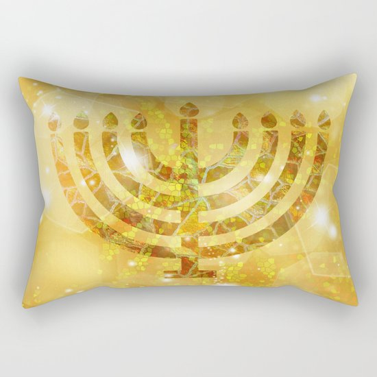 Hanukkah, the Festival of Lights Rectangular Pillow