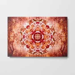 Autumn Equinox Metal Print