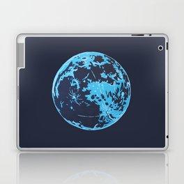 Turquoise Moon Laptop & iPad Skin