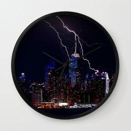 New York Storm Wall Clock