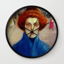 "Théophile Steinlen ""Cleo"" Wall Clock"