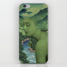 GREEN JEAN iPhone & iPod Skin