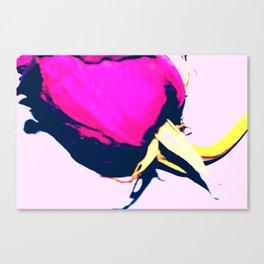 Pop Art Flower No. 1 Canvas Print
