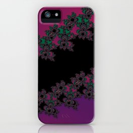 Fractal Layered Lace  iPhone Case
