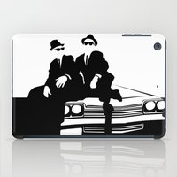 blues brothers iPad Cases featuring Blues Brothers by Greg Koenig