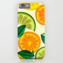 Citrus tile iPhone Case