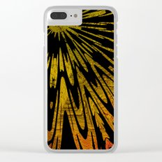 Native Tapestry in Gold Clear iPhone Case