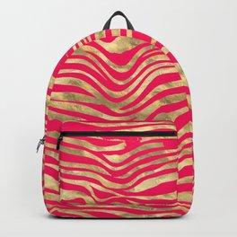 pink pussy tabbie cat & ginger tom Backpack