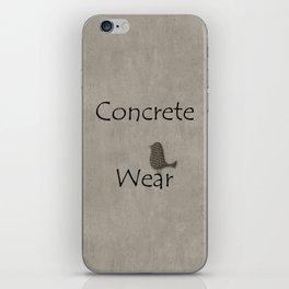 Concrete Wear iPhone Skin