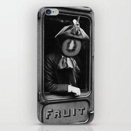 Kiwi in fruit class wagon. 1906. iPhone Skin