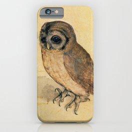 Albrecht Durer The Little Owl iPhone Case