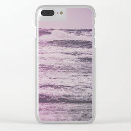 Ocean Memories Clear iPhone Case
