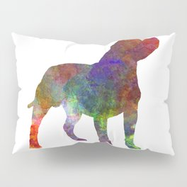 Staffordshire Bull Terrier in watercolor Pillow Sham