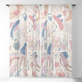 Almost Mermaid Sheer Curtain