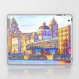 World famous Three Graces (Digital painting) Laptop & iPad Skin