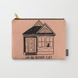 Indoor Cat (house) Carry-All Pouch