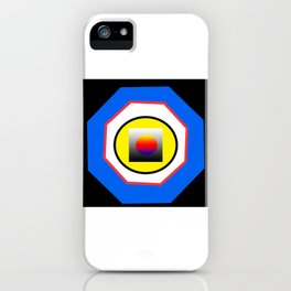 All the ways go to the center iPhone Case